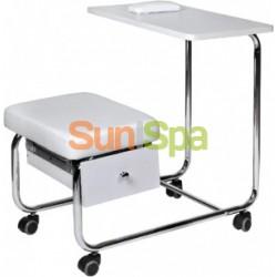 Маникюрный столик совмещенный со стулом без вытяжки BS