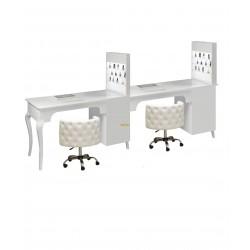 Двойной маникюрный стол 505 BS