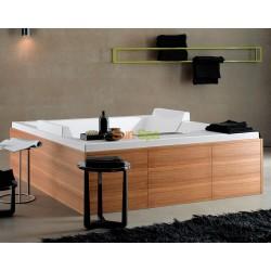 Гидромассажная ванна Albatros Сube double tub BS