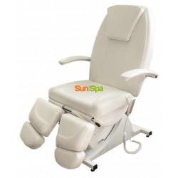 Педикюрное косметологическое кресло Нега 3 мотора + пневматика BS