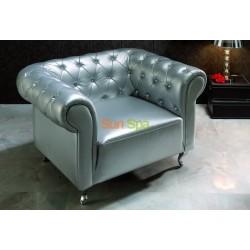 Кресло Dupen B-7 silver BS