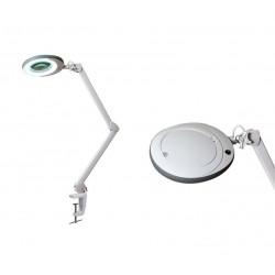 Лампа-лупа LED (48 светодиодов 3 диоптрии) кронштейн серый ободок BS