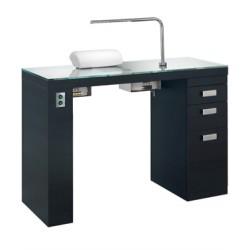 Маникюрный стол Smart Nails Black с вытяжкой BS