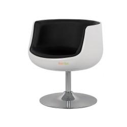 Кресло Детройт (черный/белый) BS