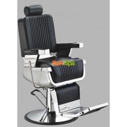 """Мужское парикмахерское кресло """"A300"""" Черное"""