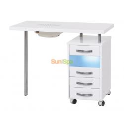 Маникюрный стол МЦ-029 с УФО и пылесосом BS