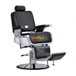 Мужское парикмахерское кресло Nathaniel Черное BS