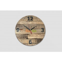 Часы настенные для барбершопа Edmond BS