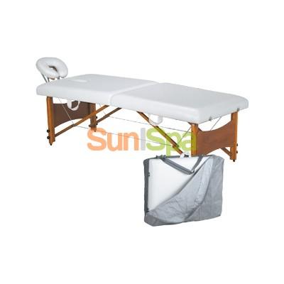Массажный стол раскладной с регулируемой высотой (чемодан в чехле) BS