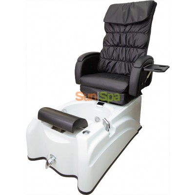 Педикюрное кресло с ванной (СПА комплекс) полуавтомат BS