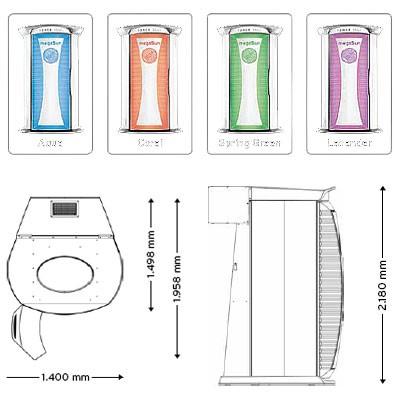 MegaSun Tower Space 3000 BS
