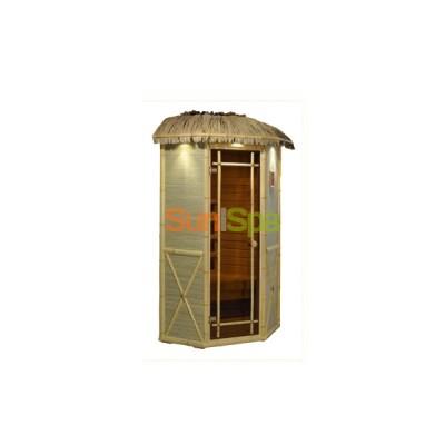 Инфракрасная сауна Соло угловая мини (Робинзон) BS