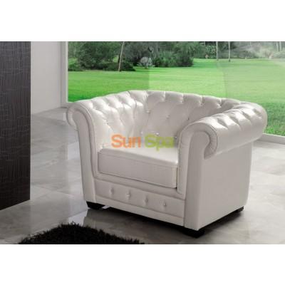 Кресло Dupen SF-24-1S White BS