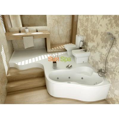 Гидромассажная ванна LEDA XL BS