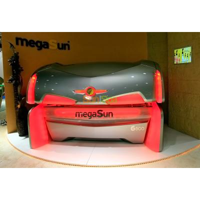 Горизонтальный солярий MEGASUN 6800 Super BS