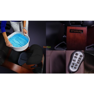 Педикюрное СПА-кресло Simplicity LE Features BS