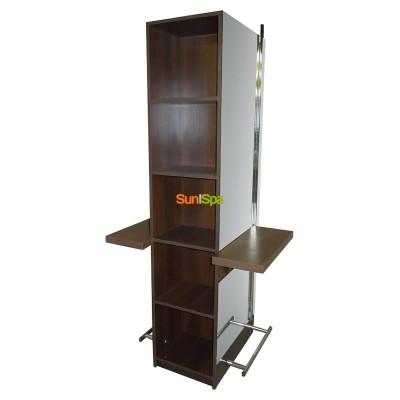 Парикмахерский туалет Шоколад двухсторонний BS