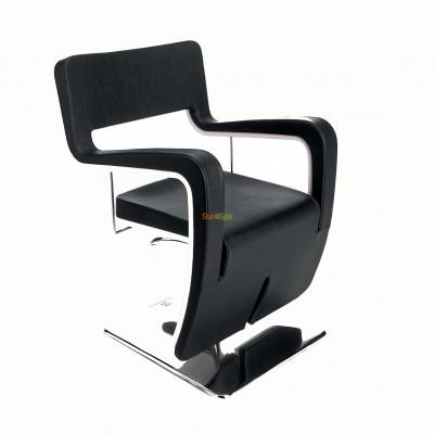 Кресло парикмахерское TSU BLACK BS